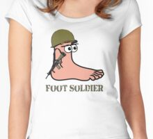 Foot Soldier Women's Fitted Scoop T-Shirt