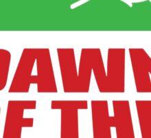 Pepe Dawn Of The Dank frog Sticker