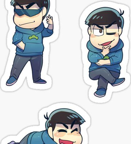 Osomatsu-san : Kara chibi (1) Sticker