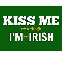 Irish! Photographic Print