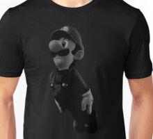 B&W Luigi Unisex T-Shirt