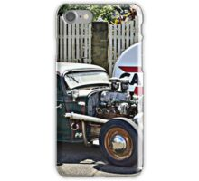 HELLS HOT ROD iPhone Case/Skin