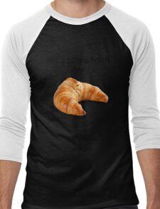 Are you gonna finish that croissant? - Carl Wheezer Men's Baseball ¾ T-Shirt