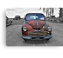 VINTAGE CAR-- VANGUARD Canvas Print