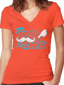 Leap Day Williams Women's Fitted V-Neck T-Shirt