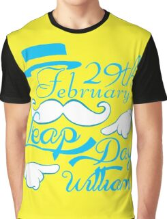 Leap Day Williams Graphic T-Shirt