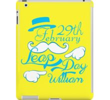 Leap Day Williams iPad Case/Skin