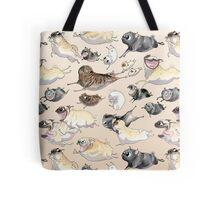 Pugs on the Run! Tote Bag