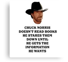 Information Canvas Print
