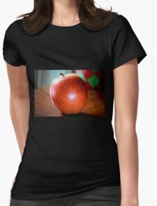 Apple! Womens Fitted T-Shirt