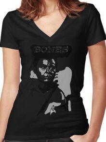 Doctor Bones McCoy - Star Trek TOS Women's Fitted V-Neck T-Shirt