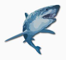 Shark Attack Kids Tee