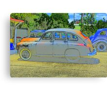 VINTAGE CAR-VANGUARD Canvas Print