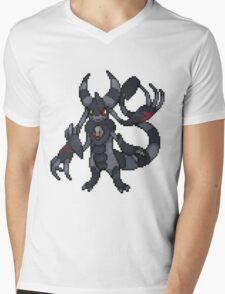 Eslite's Akuma Form Mens V-Neck T-Shirt