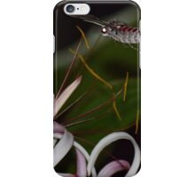 night butterfly iPhone Case/Skin