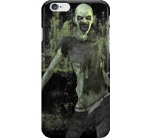 Scary Zombie T Shirt iPhone Case/Skin