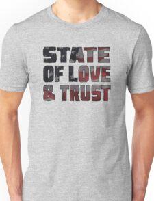 STATE OF LOVE & TRUST Unisex T-Shirt