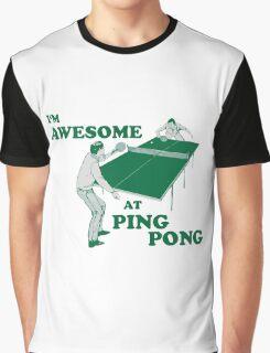 ping pong Graphic T-Shirt