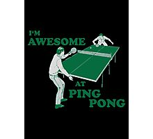 ping pong Photographic Print