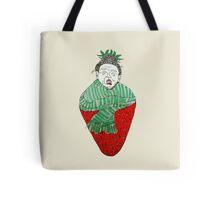 Warm  strawberry  Tote Bag