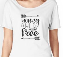 Young Wild & Free Women's Relaxed Fit T-Shirt
