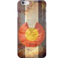 Garden of the Gods CO flag iPhone Case/Skin