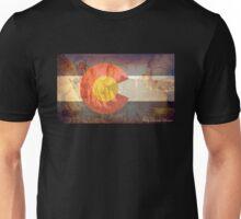 Garden of the Gods CO flag Unisex T-Shirt