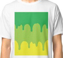 Dripping Green Classic T-Shirt