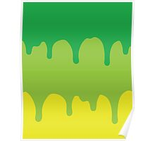 Dripping Green Poster