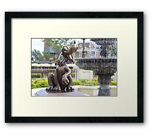 Magic Kingdom Pluto Framed Print