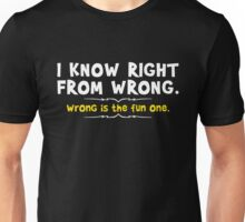 right wrong 2 Unisex T-Shirt