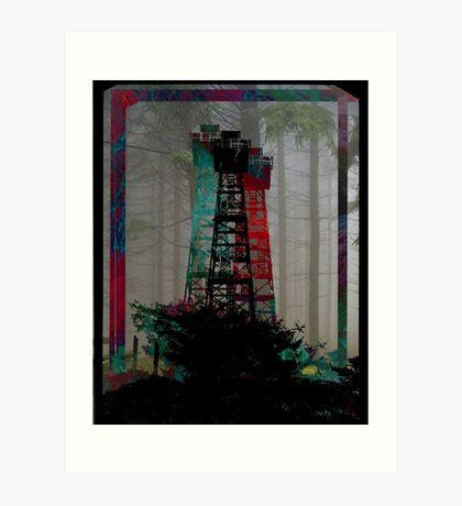Tri-Color Lookout Art Print