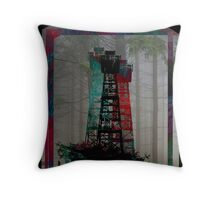 Tri-Color Lookout Throw Pillow