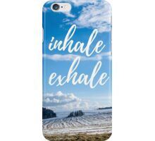 Inhale/Exhale iPhone Case/Skin