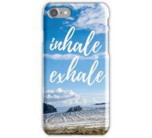 Inhale/Exhale iPhone Case/Skin