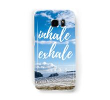 Inhale/Exhale Samsung Galaxy Case/Skin