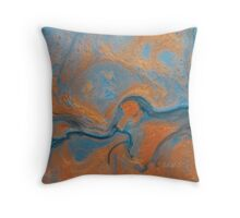 Abstract 360B Throw Pillow