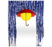 Colorado Umbrella Poster