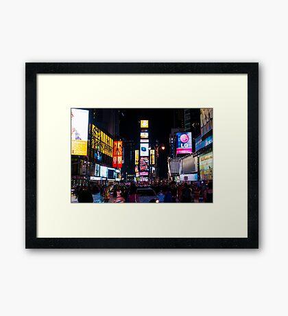 The Only Living Toon in New York Framed Print