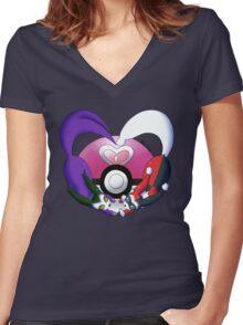 Love Evolved Women's Fitted V-Neck T-Shirt