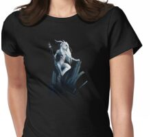 Faun of the Moon Womens Fitted T-Shirt