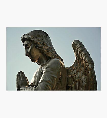 Praying Angel Photographic Print