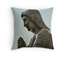 Praying Angel Throw Pillow