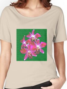 Artistic Orchid Women's Relaxed Fit T-Shirt