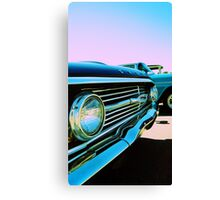 Parked Chrome Canvas Print