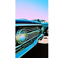 Parked Chrome Photographic Print