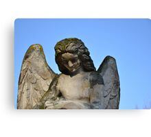 Weathered Angel Canvas Print