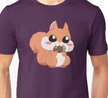 Chipmunk eating a nut Unisex T-Shirt