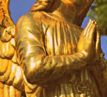 Golden Angel Sticker