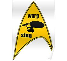 warp xing Poster
